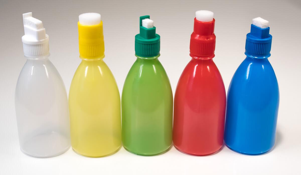 lahvičky s aplikátory